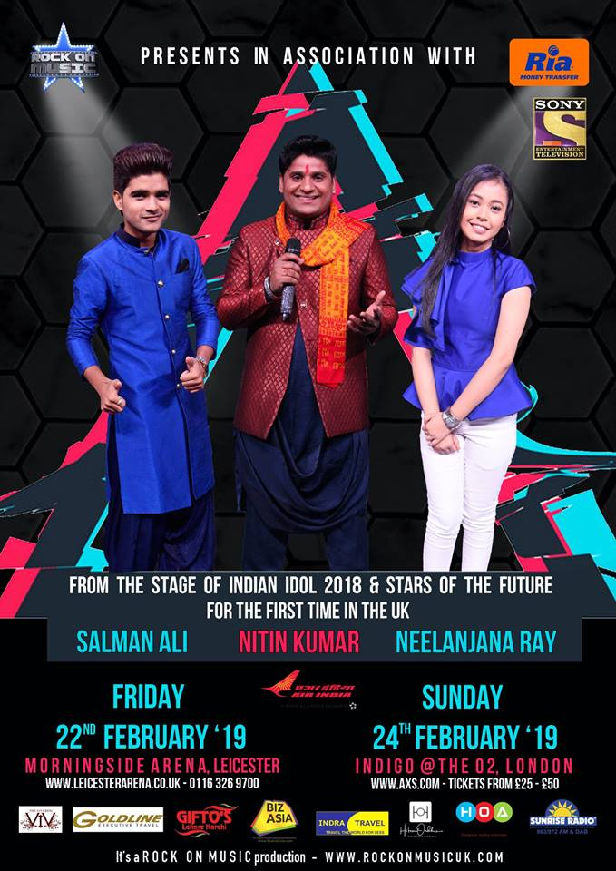 Indian Idol 10 Famous Contestants First Live UK Tour in