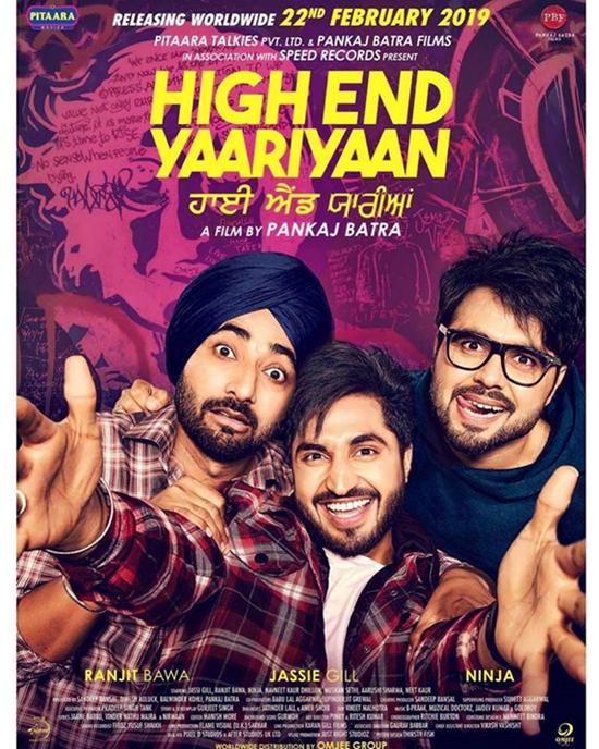 High End Yaariyan Punajbi Movie Releases 22ND February 2019